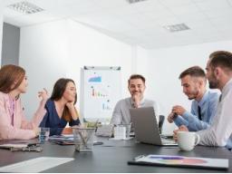 Gelungene Teamarbeit - Tipps für eine effektive Zusammenarbeit.