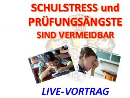 Webinar: Schulstress und Prüfungsängste sind vermeidbar