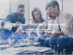 Online Kurs - Social Media Management für EinsteigerInnen