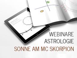 Webinar: Astrologie: Sonne am MC Skorpion