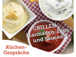 Webinar: Isabel's Küchengespräche: Grillen, Marinaden, Dips & Saucen