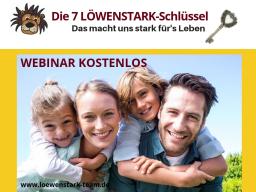 Webinar: Die 7 LÖWENSTARK-Schlüssel für starke Kinder