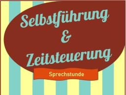 Webinar: Sprechstunde Selbstführung & Zeitsteuerung