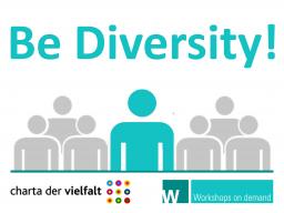 Webinar: Be Diversity! Diversitäts-Potenziale für das private und berufliche Leben