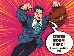 Webinar: CRASH BOOM BANG: mit Investigativer PR bei Meinungsbildnern und in der Öffentlichkeitsarbeit GARANTIERT GEWINNEN!