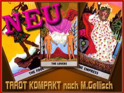 Webinar: TAROT Kompakt 1 nach M.Gellisch