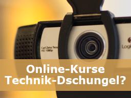 Webinar: Online-Kurse: Technik-Dschungel?