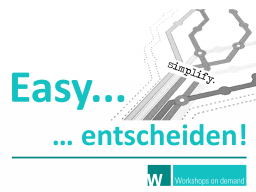 Webinar: Easy... entscheiden!