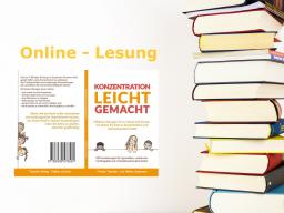 Webinar: Online-Lesung Konzentration leicht gemacht