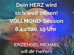 Webinar: VOLLMOND - Magischer Engel-Energiekreis