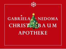 Webinar: CHRISTBAUM-APOTHEKE BY GABRIELA NEDOMA