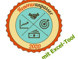 Webinar: Honoraranpasser 2019/20 | Excel-Tool für Selbständige und Freiberufler