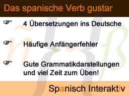 """Webinar: Das spanische Verb """"gustar"""""""