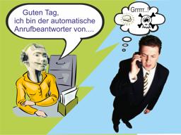 Webinar: Telefon-Anrufbeantworter, sinnvoll aber oft verschmäht.