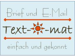 Webinar: Text-o-mat  |►► Brief & E-Mail einfach und gekonnt