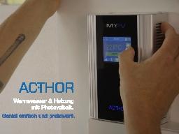 Webinar: Haustechnik mit Solarstrom im Einfamilienhaus