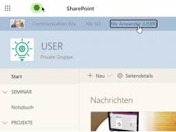 SharePoint online Basics (1 Tag)