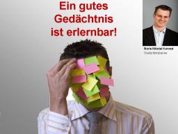 Webinar: Boris Nikolai Konrad - Gedächtnisstraining