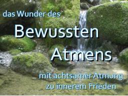 "Atem-Meditation ""Das Wunder des Bewussten Atmens"""